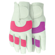 Midwest Quality Gloves 148F6-M Max Performance Goatskin Palm Assorted Colors Gloves Medium Ladies