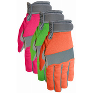 Midwest Quality Gloves 149F6-L Ladies Synthetic Gloves Larges