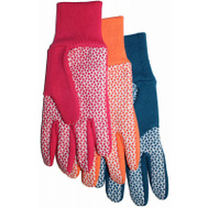 Midwest Quality Gloves 522F6 Ladies Jers/Canv Gloves