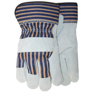Midwest Quality Gloves 7733K Kids Leather Gloves/Cuff