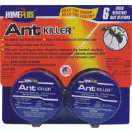 PIC AT-6ABMETAL Home Plus Ant Killer Child Resistant 6 Cans Per Pack