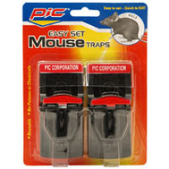 PIC PMT-2 Plastic Mouse Trap Pack Of 2