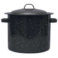 Columbian Home 6124T-1 Granite Ware 16 Quart Ceramic Stock Pot