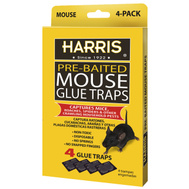 PF Harris HMG-4 Trap Glue Mouse 4 Pk 4 Pack