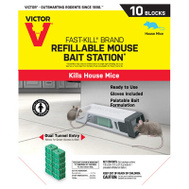 Woodstream M922 Station Bait Mouse Refill 10Ct