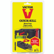 Woodstream M140S Victor Trap Mouse Plastic 2-Pack
