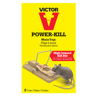Woodstream M142S Victor Mousetrap Reusable 2Pk 2 Pack