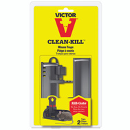 Woodstream M162S Victor Mouse Trap Clean-Kill 2Pk 2 Pack