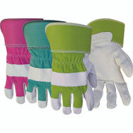 Boss 743 Grain Pigskin Leather Palm Assorted Color Gloves Ladies