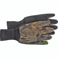 Boss 4203MOL Jersey Timber Camo With PVC Dots Gloves Large