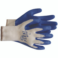 Boss 8426L Flexi Grip Poly Cotton Latex Coated Grip Gloves Large