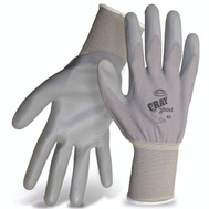 Boss 3000L Gray Ghost Nylon PU Coated Palm Gloves Large