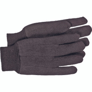 Boss 403L Brown 10 Ounce Poly Cotton Jersey Gloves Large
