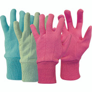 Boss 419 Cotton Jersey Knit Wrist Pastel Color Gloves Children 9-12