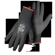 Boss 7820M Gloves Foam Nitrile Palm Med