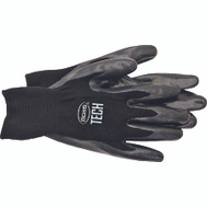 Boss 7820L Chemical Nitrile Foam Back Knit Gloves Large