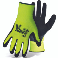 Boss 8412L Textured Latex Coated Grip String Knit Gloves Large