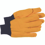 Boss 4037 2 Ply Cotton Flannel Chore Gloves Yellow Large