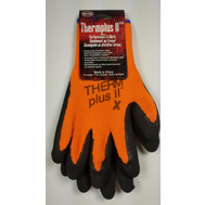 Boss 7843X Therm Plus ll Hi-Viz Orange Work Gloves With Latex Coated Palm Xlarge