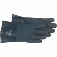 Boss 1712 PVC Coated Chemical Resistant Insulated Jesey Lined Gloves Large