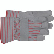 Boss 4092 Split Leather Palm Gloves Large