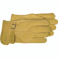 Boss 6023J Premium Unlined Tan Cowhide Drivers Gloves Extra-Large