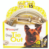 Boss Pet 09415 Tie Out Pet Hvy Wt 15Ft