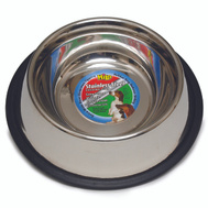 Boss Pet 57696 Dish S-Steel No Tip 96 Ounce