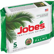Easy Gardener 01010 Jobes Fertilizer Palm Tree Spikes 5 Pack