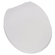 Bemis 20 000 Mayfair White Round Plastic Toilet Seat