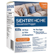 Sergeants 02273 Sentry Home Household Flea And Tick Fogger Contains 3 - 2 Ounce Foggers