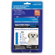 Sergeants 02909 Sentry Pro XFT Small Breed Flea And Tick Squeeze On For Dogs 11 To 20 Pounds Pack Of 3