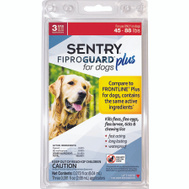Sergeants 03162 Cntrl Pet Fl/Tk Dog 45- 88 Pound