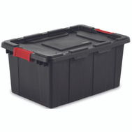 Sterilite 14649006 Tote Industrial Black 15 Gallon