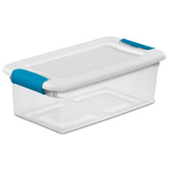 Sterilite 14928012 Box Latching With Lid Plastic 6 Quart