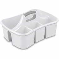 Sterilite 15888006 Ultra Large Ult White Caddy 17-5/8 By 1