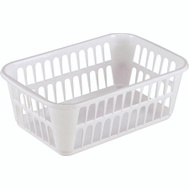 Sterilite 16088048 Basket Storage 11-1/4 By 8 By 4-1/4In White