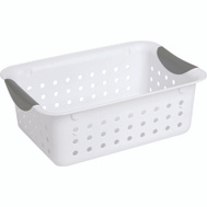 Sterilite 16228012 Ultra Basket 11 By 8 By 4 White