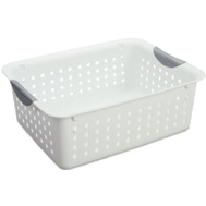 Sterilite 16248006 Ultra White Basket 13.8 By 10.8 By 5