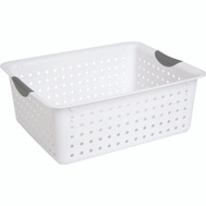 Sterilite 16268006 Ultra Basket 15.9 By 12.9 By 6 White