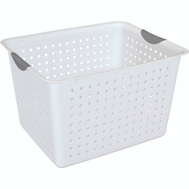 Sterilite 16288006 Deep Ultra Basket Storage Ultra Deep White