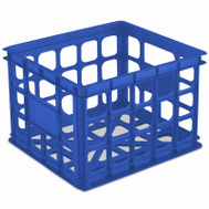 Sterilite 16924306 Storage Crate Blue Aquarium