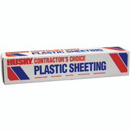 Husky CF00712-0400C 12 By 400 Foot 3/4 Mil Clear Poly Film