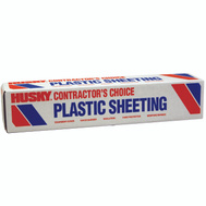 Husky CF01512-200C 12 By 200 Foot 1 1/2 Mil Clear Poly Film