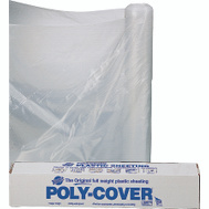 Orgill Poly 4X8-C Poly Film 4 Mil Clear Polyethylene Film 8 By 100 Foot