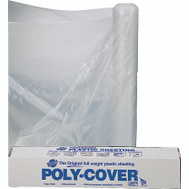 Orgill Poly 6X6-C Poly Film 6 Mil Plastic Clear Polyethylene Film 6 By 100 Foot