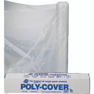 Orgill Poly 6X8-C Poly Film 6 Mil Plastic Clear Polyethylene Film 8 By 100 Foot