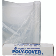 Orgill Poly 6X40-C Poly Film 6 Mil Plastic Clear Polyethylene Film 40 By 100 Foot