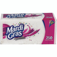Georgia Pacific 45200 Madri Gras Mardi Gras Napkin 250Ct 250 Pack