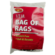 Tiger Accessory Group 2-2528 1/2 Pound Bag Of Rags